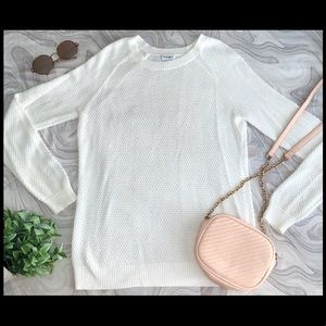Old Navy White Sweater